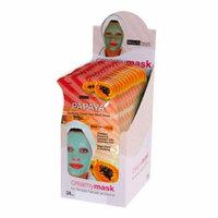 BEAUTY TREATS Papaya Purifying Dead Sea Mud Mask Display Box 24 Pcs