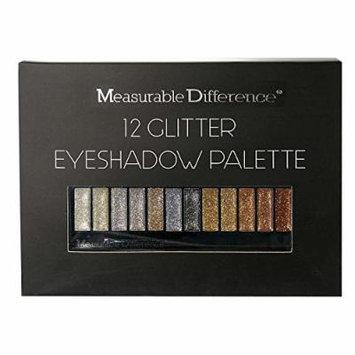 Measurable Difference 12 Eyeshadow Palette, Glitter
