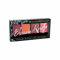 Measurable Difference The Diamond Collection Palette, Blossom Rouge Cream Blush