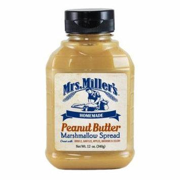 Mrs, Miller's Peanut Butter Marshmallow Spread 12 oz. (2 Bottles)