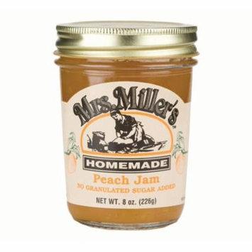 Mrs. Miller's No Sugar Peach Jam 8 oz. (2 Jars)