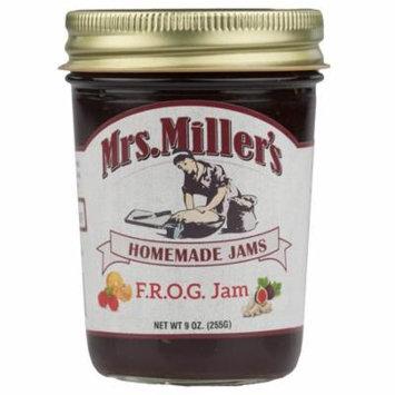 Mrs. Miller's Unique Fig, Raspberry, Orange, Ginger Jam 9 oz. (2 Jars)