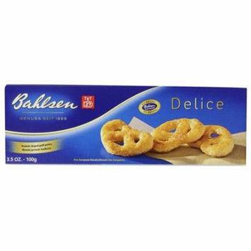 Bahlsen Delice Puff Pretzels 3.5 oz Boxes - Pack of 12