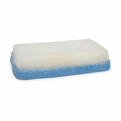 Tough Guy 3RAK5 Blue/White Microfiber Scrubber Sponge