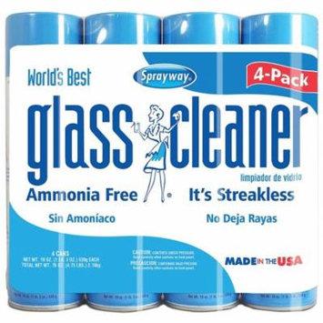 Sprayway Glass Cleaner 19oz. 4pk