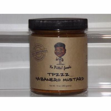 Yo Pitts! Foods, ALL-Natural, TPzzz Habanero Mustard - 10 oz.