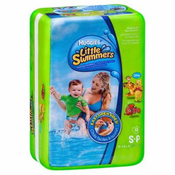 Baby Swim Diaper Huggies Pull On Small Disposable Heavy Absorbency-Case of 96