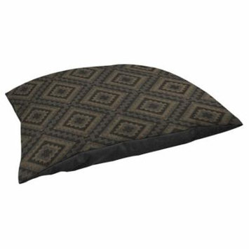 Thumbprintz Winter Lodge Deer Pattern Fleece Pet Bed