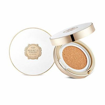 The Face Shop Miracle Finish Oil Control Water Cushion SPF50+ PA+++ (V203 Natural Beige)