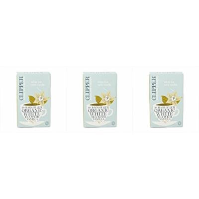 (3 PACK) - Clipper - Organic White Tea + Vanilla | 26 Bag | 3 PACK BUNDLE