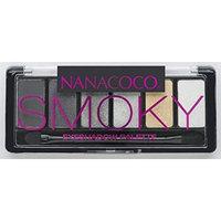 Nanacoco Nncc Six Shade Eyeshadow Palette, Smoky, 6 Gram