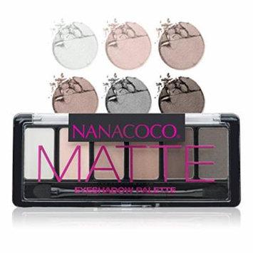 Nanacoco Nncc Six Shade Eyeshadow Palette, Matte, 6 Gram