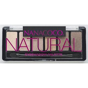 Nanacoco Nncc Six Shade Eyeshadow Palette, Natural, 6 Gram