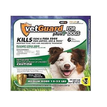 VetGuard Plus Flea & Tick Treatment for Dogs [6 month supply]