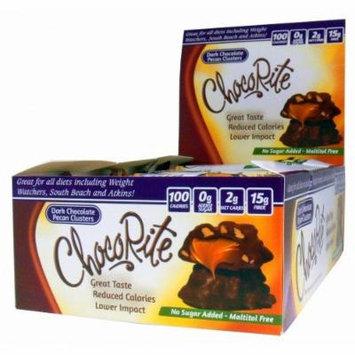 Chocorite Dark Chocolate Pecan Cluster 16 Count Box