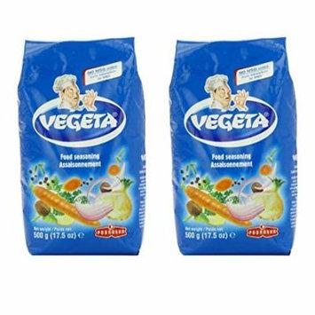 Vegeta, Gourmet Seasoning, No MSG Added 17.5 oz(500g) bag - Pack of 2