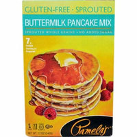 Pamela's Products Buttermilk Pancake Mix Gluten Free -- 12 oz pack of 1