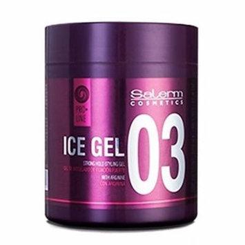SALERM ICE GEL 03 Strong hold styling gel with Arginine (17.6 oz / 500ml)