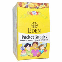 Eden Foods, Organic, Pocket Snacks, Pumpkin Seeds, Dry Roasted, 12 Packages, 1 oz