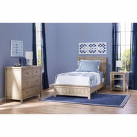 Delta Children Farmhouse 3-Piece Twin Room-In-A-Box, Rustic Whitewash