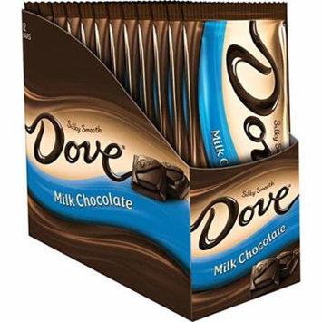DOVE Milk Chocolate Sharing Size Candy Bar 3.30-Ounce Bar, 12 Count Box