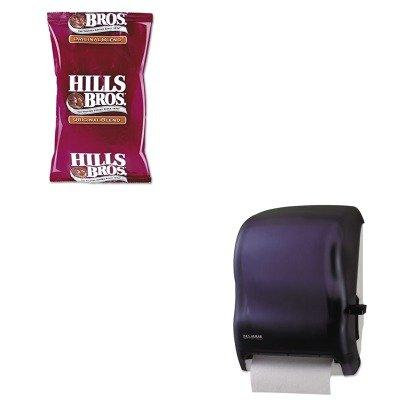 KITOFX01101SJMT1100TBK - Value Kit - Hills Bros. Original Coffee (OFX01101) and San Jamar Lever Roll Towel Dispenser w/o Transfer Mechanism (SJMT1100TBK)