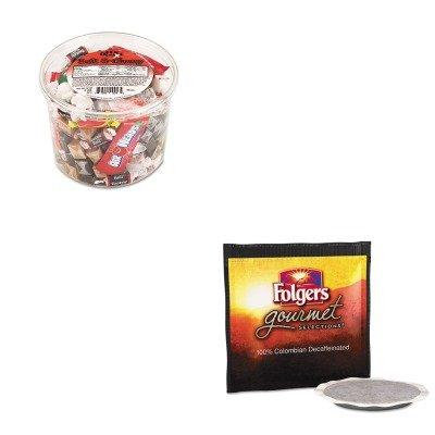 KITFOL63101OFX00013 - Value Kit - Folgers Gourmet Selections Coffee Pods (FOL63101) and Office Snax Soft amp;amp; Chewy Mix (OFX00013)