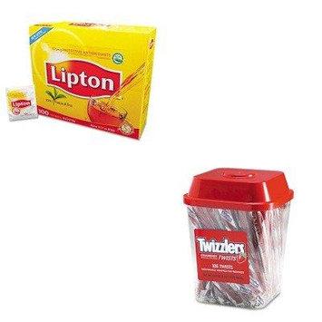 KITLIP291TWZ51902 - Value Kit - Twizzlers Strawberry Twizzlers Licorice (TWZ51902) and Lipton Tea Bags (LIP291)