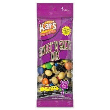 Nuts Caddy, Sweet 'N Salty Mix, 2oz Packets, 24/Box by Kars