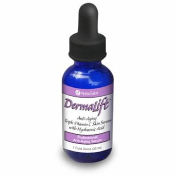 Dermalift – Powerful 10% Vitamin C serum with Hyaluronic Acid & a Superfruit Anti-Oxidant complex! Dermalift utilizes THREE active types of Vitamin C in a Hyaluronic Acid Solution.