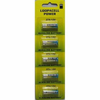 Loopacell 12 Volt Alkaline Alarm Remote Battery MN27/A27 5 Pack