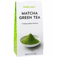 Trader Joe's Matcha Green Tea Powder 3 Pack (each with 7 Single Serve Packets)