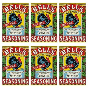 Bells All Natural Seasoning - 1 oz (Pack of 6)