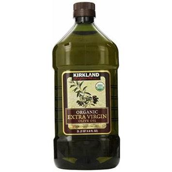 Kirkland - xxwg Extra Virgin Olive Oil - Organic - 2 Qt 3.6 FLOZ npxey