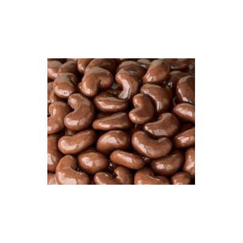 Gourmet Milk Chocolate Covered Cashews by Its Delish, 5 lbs