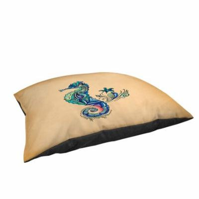 Thumbprintz Seahorse Large Rectangle Pet Bed