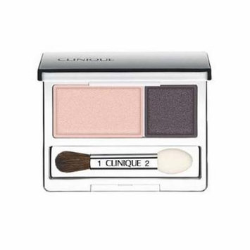 Clinique All About Crease and Fade Resistant Eye Shadow Duo - 0.07 Oz (Uptown Downtown)