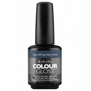Artistic Colour Gloss Soak Off Gel Nail Polish - No Taming My Twinkle 15ml (2100050)