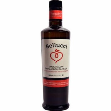Bellucci Premium 100% Italian Extra Virgin Olive Oil -- 16.9 fl oz pack of 3