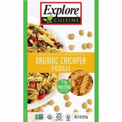 Explore Cuisine Organic Chickpea Fusilli -- 8 oz pack of 4