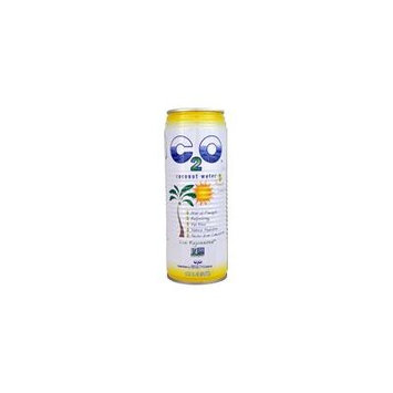 C2O Coconut Water with Pineapple Juice & Coconut Pulp -- 17.5 fl oz pack of 2