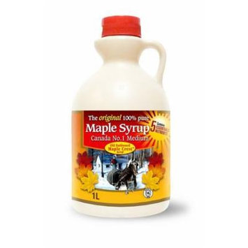 Old Fashioned Maple Crest Maple Syrup 1 Liter