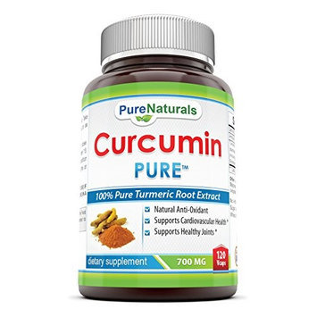 Pure Naturals, High Potency Curcumin Extract, 700 Mg, 120 Capsules