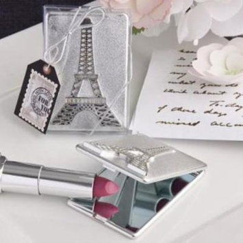 Eiffel Tower design mirror compacts pack of 50