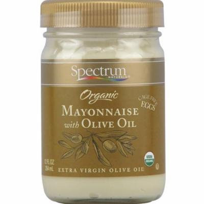 Spectrum Naturals Organic Mayonnaise With Olive Oil 12 Fl Oz (Pack of 6)