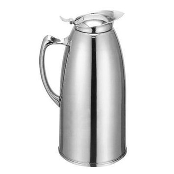 50 oz Stainless Steel Hot Drink Coffee Server Carafe Vacuum Server Pourer Pot