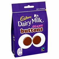 Cadbury Dairy Milk Giant Buttons 4 oz