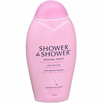 SHOWER TO SHOWER Body Powder Original Fresh 8 oz Each