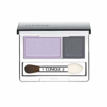 Clinique All About Crease and Fade Resistant Eye Shadow Duo - 0.07 Oz (Blackberry Frost)