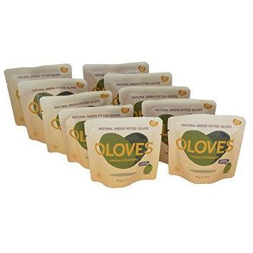 Oloves Olives Lemon and Rosemary 1.1oz (Pack of 10)